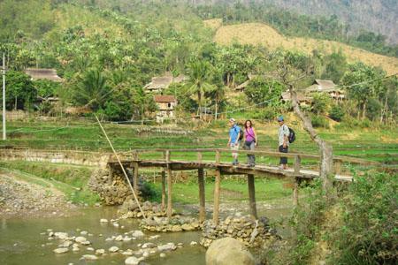 Walk around Village in Mai Chau