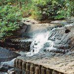 Waterfall and thousand Linga River