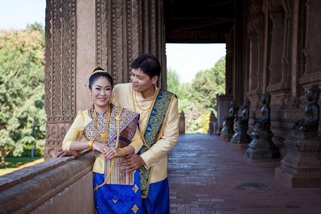 Laos wedding photo